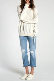N: Philanthropy Mika Lace Up Top - Product Mini Image