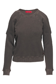 N: Philanthropy Star Cutout Sweater - Front cropped
