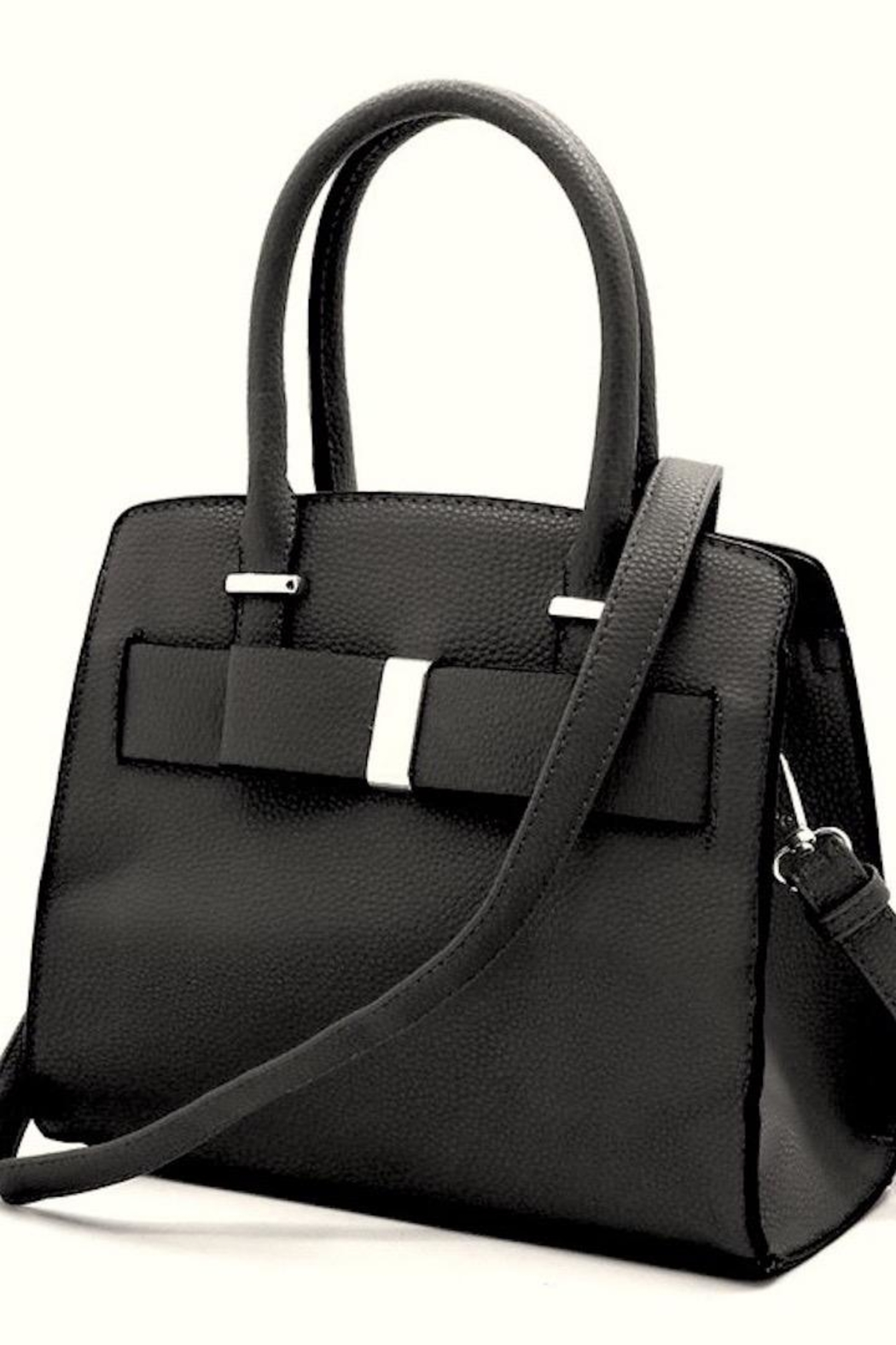 n/a Adorable Bow Handbag - Front Cropped Image