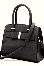 n/a Adorable Bow Handbag - Front cropped