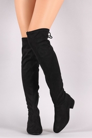 n/a Black Knee Boots - Product Mini Image