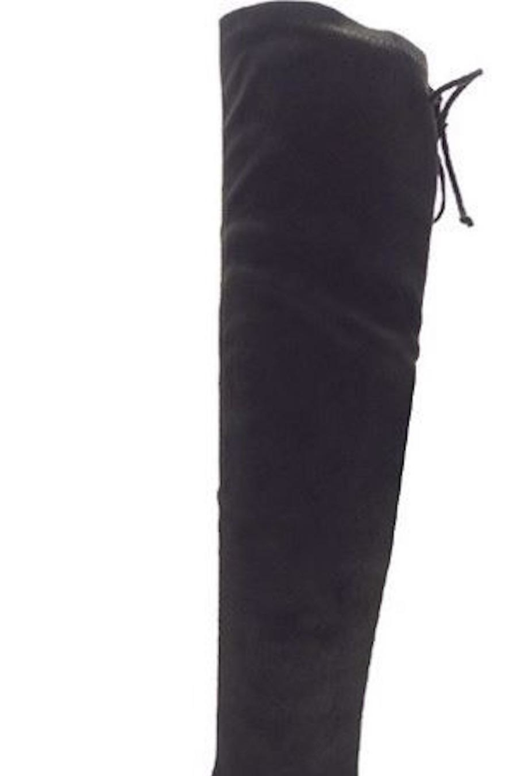 n/a Black Knee Boots - Side Cropped Image