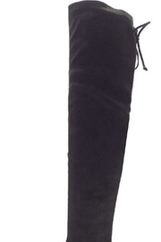 n/a Black Knee Boots - Side cropped