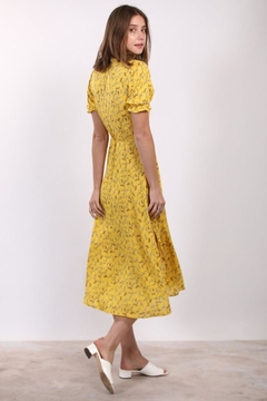 n/a Cheerful Yellow Floral Maxi Wrap - Alternate List Image