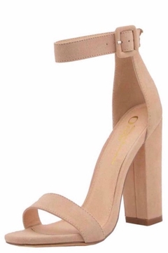 n/a Chunky Heels In Nude - Product List Image