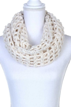 n/a Crochet Knit Infinity Scarfs - Product List Image