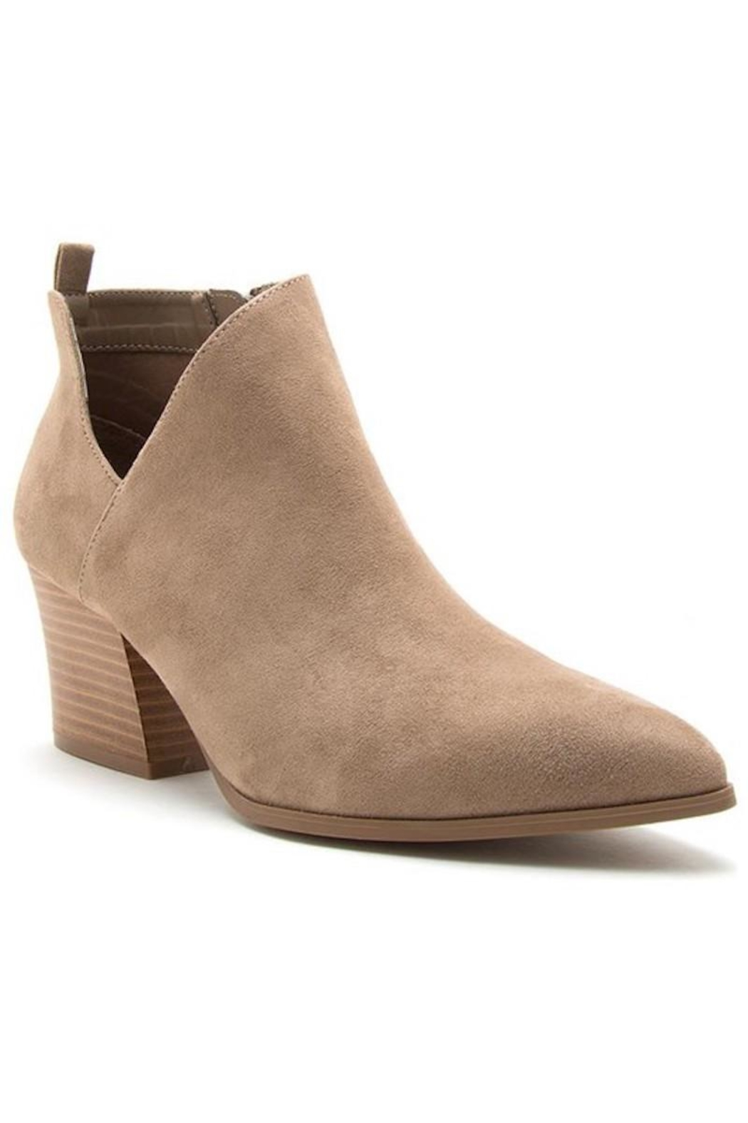 n/a Cut Out Booties - Front Cropped Image
