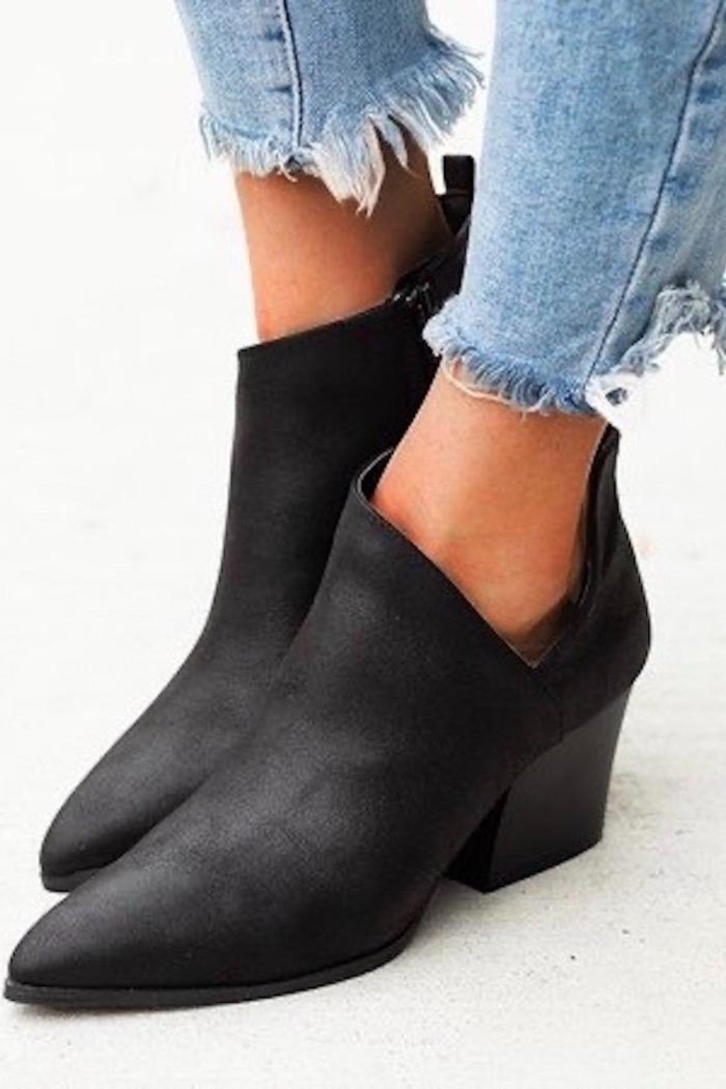 n/a Cut Out Booties - Main Image