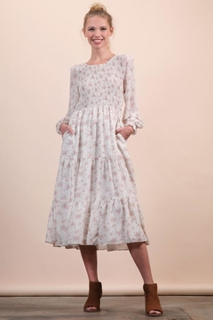 n/a Darling Dainty Floral Midi - Product List Image