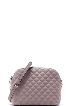 n/a Fall Lavender Quilted Crossbody Bag - Alternate List Image