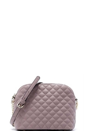 n/a Fall Lavender Quilted Crossbody Bag - Product Mini Image