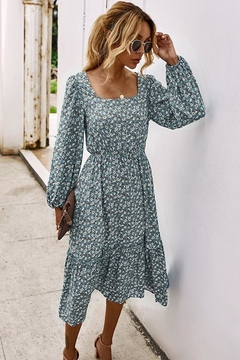 n/a Falling For Floral Midi - Product List Image