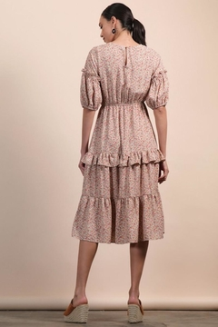 n/a Floral Layered Midi Dress - Alternate List Image