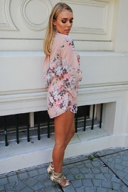 n/a Floral Open-Back Playsuit - Side cropped