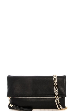 n/a Fold-Over Tassel Clutch - Product List Image