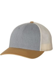 n/a Grey/amber Gold Unisex Trucker Hat - Product Mini Image