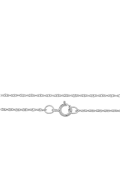 n/a Joined Initials Necklace - Alternate List Image