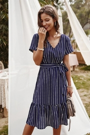 n/a Nancy's Navy Stripe Midi - Product Mini Image