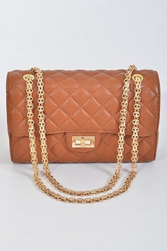 n/a Quilted Flap Bag - Product List Image