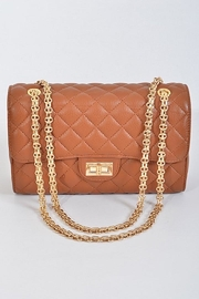 n/a Quilted Flap Bag - Product Mini Image