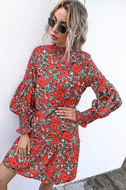 n/a Red Rosie's Wandering Dress - Side cropped