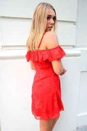 n/a Red Sparkle Dress - Front full body