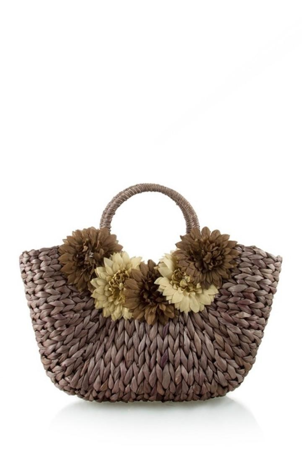 n/a Straw Flower Bag - Front Cropped Image