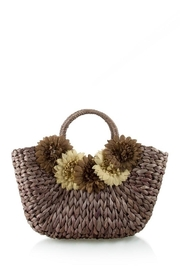 n/a Straw Flower Bag - Front cropped