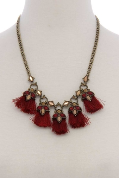 n/a Wine Statement Necklace - Product List Image