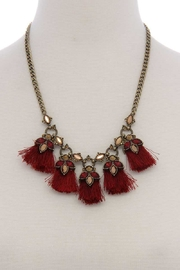 n/a Wine Statement Necklace - Product Mini Image