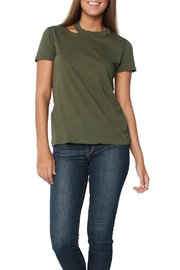 n:PHILANTHROPY Zander Tee Moss - Front cropped