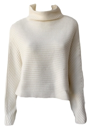 Naadam Open Back Cashmere Sweater - Front cropped