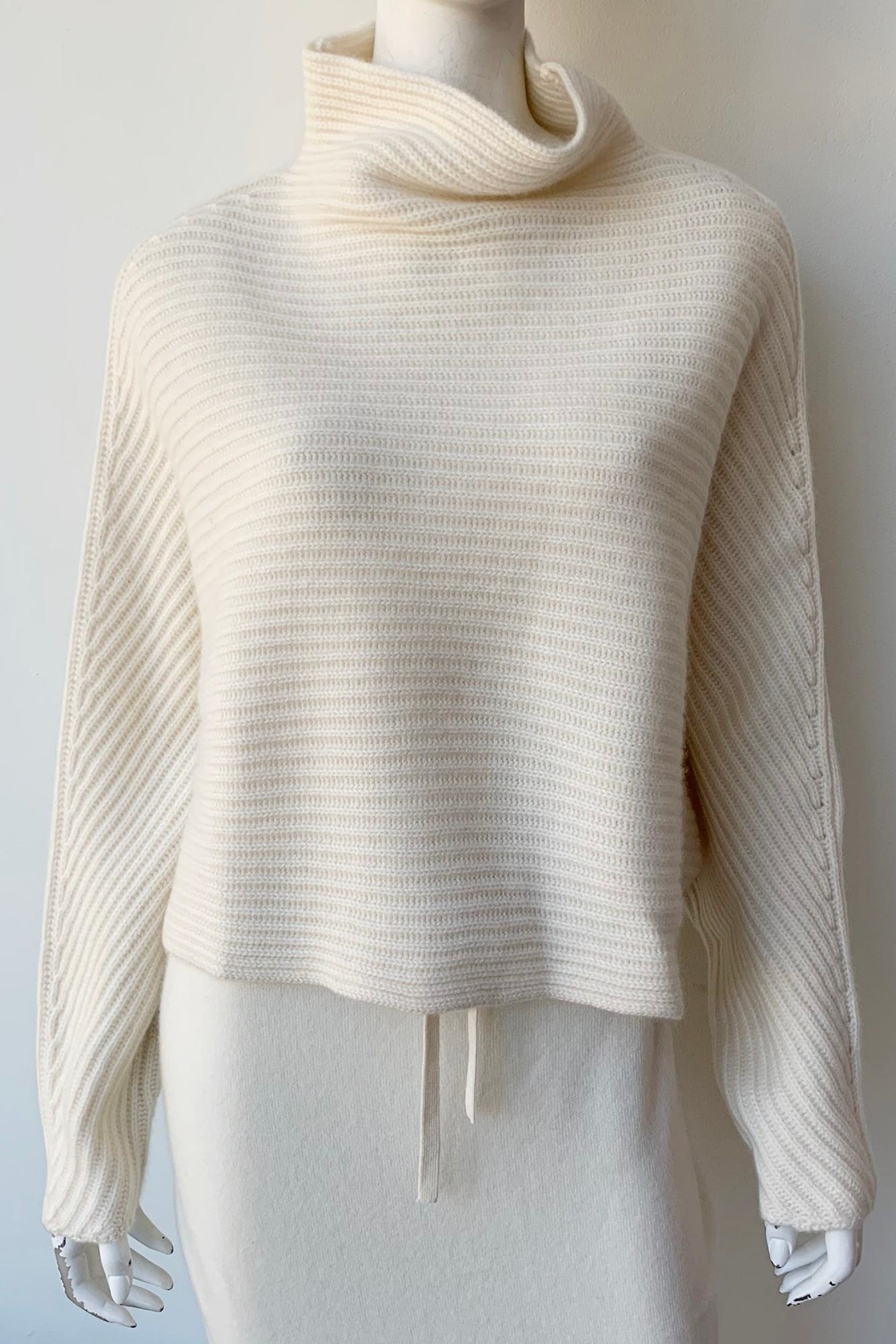 Naadam Open Back Cashmere Sweater - Front Full Image