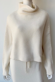 Naadam Open Back Cashmere Sweater - Front full body