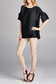 Nabisplace Audrey Pleated Top - Product Mini Image