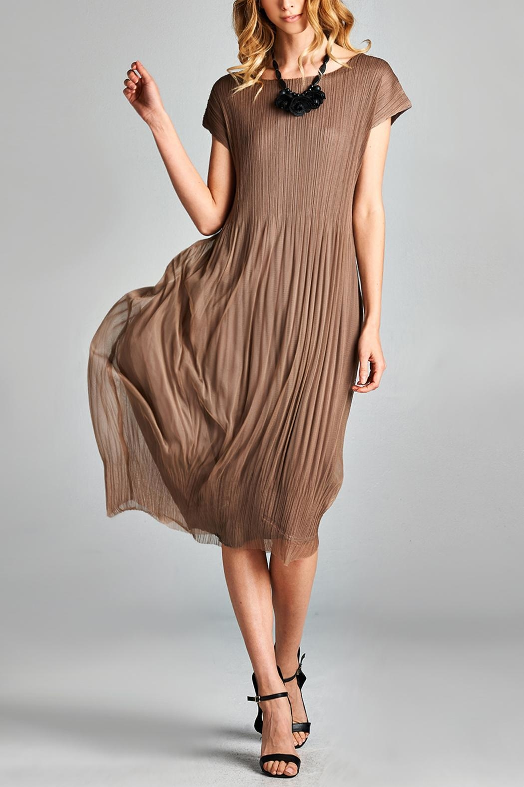 Nabisplace Cf Pleated Dress - Main Image