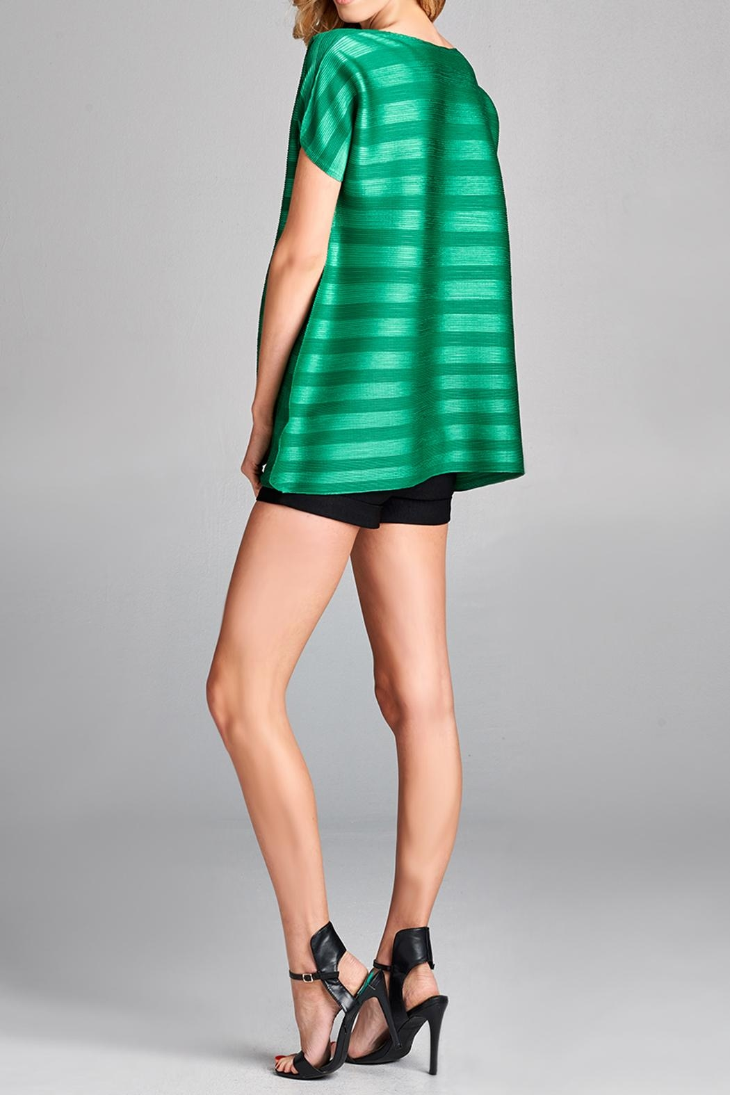 Nabisplace Dziko Pleated Top - Side Cropped Image