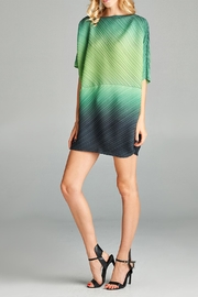Nabisplace Maya Pleated Top - Front cropped