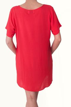 Shoptiques Product: Red Rayon Dress