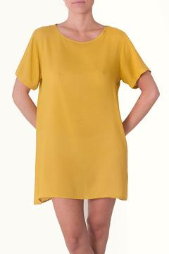 Shoptiques Product: Yellow Rayon Dress