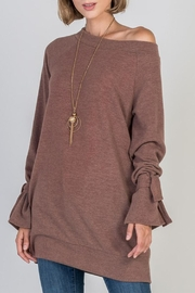 Nadia Boat Neck Tunic - Front cropped