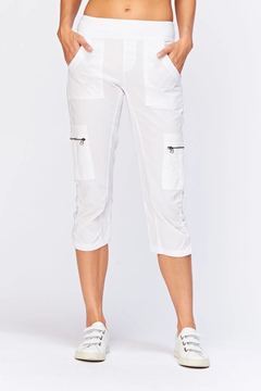 XCVI Wearables Nadia Crop White - Product List Image