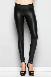Nadia Faux Leather Leggings - Front cropped