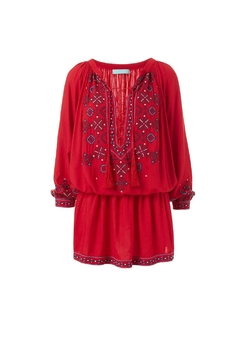 Melissa Odabash Nadja Red Dress - Alternate List Image