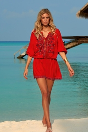 Melissa Odabash Nadja Red Dress - Product Mini Image