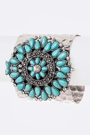 Nadya's Closet Adjustable Cuff Bangle - Front cropped