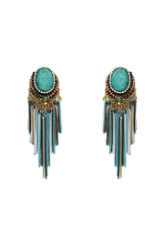 Nadya's Closet Bead And Stone Earrings - Product Mini Image