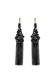 Nadya's Closet Beaded Cluster Earrings - Front cropped