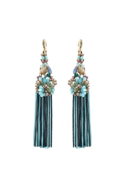 Nadya's Closet Beaded Cluster Earrings - Product Mini Image