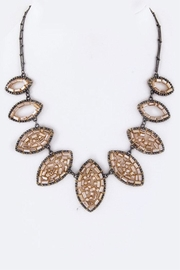 Nadya's Closet Beaded Leafs Necklace - Product Mini Image